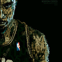Garnett - Boston Celtics (Typographic Portrait)