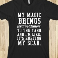 My Scar-Unisex Black T-Shirt