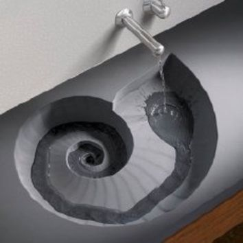 HighTech Ammonite Sink