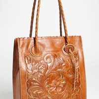 Patricia Nash 'Cavo' Tooled Leather Tote | Nordstrom