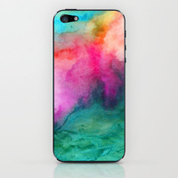 Staring at the Ceiling iPhone & iPod Skin by Jacqueline Maldonado