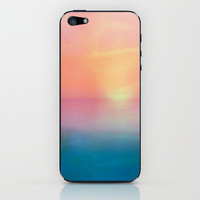 Ombre Sunset iPhone & iPod Skin by  Alexia Miles photography