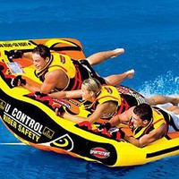 SportsStuff U-Slalom 3 Towable Boat Tube 1-3 Person:Amazon:Sports & Outdoors