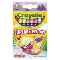 Crayola 8ct Pick your Pack Cupcake My Day Crayons