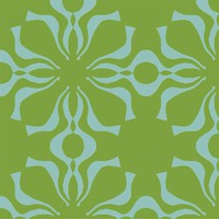 Genie 2 in Lime & Aqua, Large