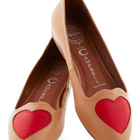 Jeffrey Campbell Heart to Miss Flat | Mod Retro Vintage Flats | ModCloth.com