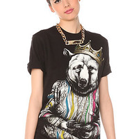 Rook Tee Biggie Bear V3 in Black