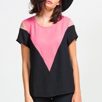 Triangle Candy Tee