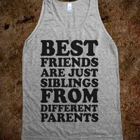 Best Friends Are Just Siblings From Different Parents Tanks