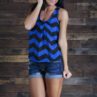 Sapphire Statement Tank