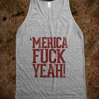 Merica Fuck Yeah! - Country Shirts - Skreened T-shirts, Organic Shirts, Hoodies, Kids Tees, Baby One-Pieces and Tote Bags