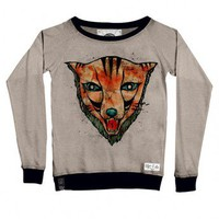 Cat_Fox Sweatshirt by Youreyeslie.com Online store> Shop the collection