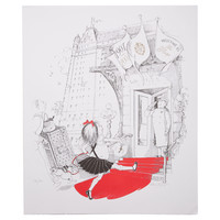 One Kings Lane - Hilary Knight - Eloise Returns to Plaza Lithograph III