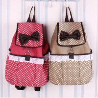 Cute Canvas Lace Backpack