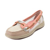 Womens Sperry Top-Sider Angelfish Boat Shoe, Linen White, at Journeys Shoes
