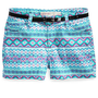 Epic Threads Kids Shorts, Girls Belted Aztec Shortie Shorts - Kids Girls 7-16 - Macy&#x27;s