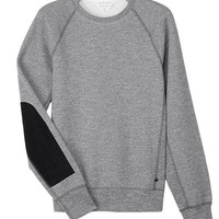 Suede Patch Sweatshirt | rag & bone Official Store