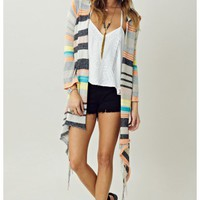 Linsey Hooded Wrap Sweater