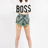 Bitching &amp; Junkfood X UO Boss Cropped Tee