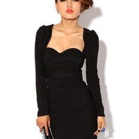 Krazy Sexy Club Cocktail Party Evening Dress #265 Black S M L