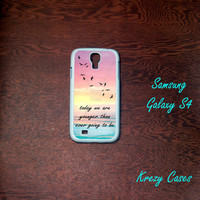 Samsung Galaxy S4  Case, Young Quote Samsung Galaxy S4/S3 Phone case, colorful up movie Samsung Galaxy S3 Cases, Galaxy S4/ S3 case