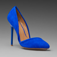 Lamb Meridith Suede Heel in Electric Blue from REVOLVEclothing.com