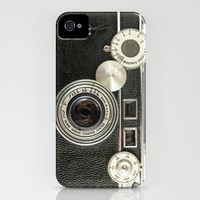 Vintage Range finder camera. iPhone Case by Wood-n-Images | Society6