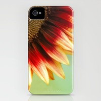 Sunflower iPhone Case by Wood-n-Images | Society6
