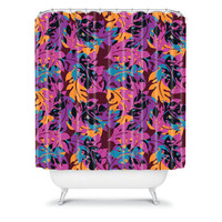 DENY Designs Home Accessories | Aimee St Hill Falling Leaves Shower Curtain