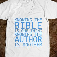 Knowing the Bible is One Thing