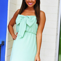 Bow For The Princess Dress: Mint | Hope&#x27;s
