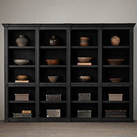 Atkins Quad Low Bookshelf