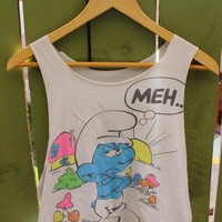 The smurfs tank top