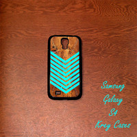 Samsung Galaxy S4 Case, Geometric Arrow on wood(not a real wood Samsung Galaxy S4 case, Samsung Galaxy S3 Cases, Galaxy  S3 case