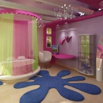 Teen girl room paint ideas memes for Anime bedroom ideas