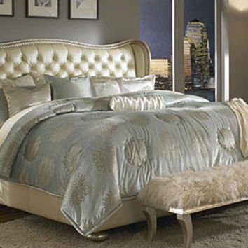 Hollywood swank collection queen bed from for Spring hill designs bedroom furniture