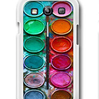 Water color paint set Photo - Samsung Galaxy S3 Case Samsung Galaxy SIII Case ,
