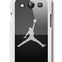 Personalized Michael Jordan Logo Photo - Samsung Galaxy S3 Case Samsung Galaxy SIII Case ,