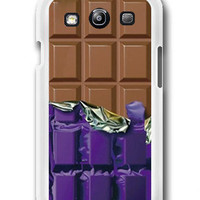 Chocolate Candy Bar Photo - Samsung Galaxy S3 Case Samsung Galaxy SIII Case ,