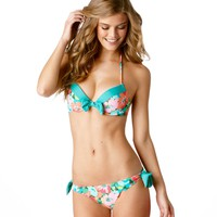 Bridget Floral Pushup Bikini Top | Aerie for American Eagle