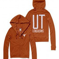 University of Texas Perfect Full Zip Hoodie - PINK - Victoria&#x27;s Secret