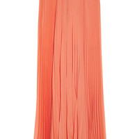 Alice + Olivia|Shannon pleated chiffon maxi skirt|NET-A-PORTER.COM