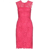 mytheresa.com -  Valentino - CHANTILLY LACE DRESS  - Luxury Fashion for Women / Designer clothing, shoes, bags