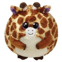 Ty Beanie Ballz Tippy The Giraff...
