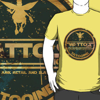 WATTO&#x27; S SHOP TATOOINE  by karmadesigner