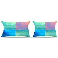 "Nina May ""Crayon Batik"" Pillow Case 