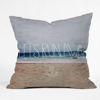 DENY Designs Home Accessories | Leah Flores Lets Run Away III Outdoor Throw Pillow