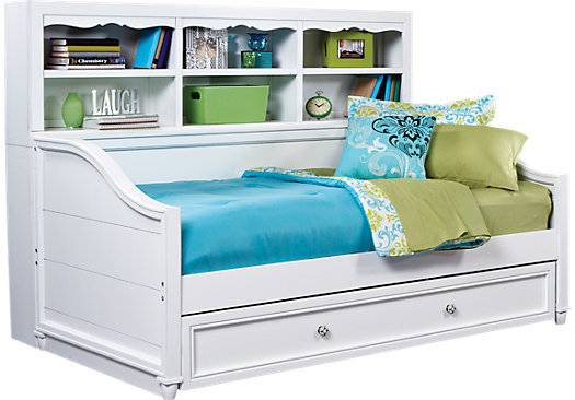 gabriella winter white 3 pc bookcase from rooms to go. Black Bedroom Furniture Sets. Home Design Ideas