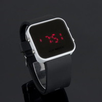 LED Fashion Black Watch from Shop With Love