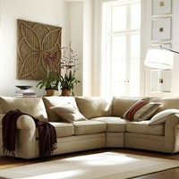 Pearce 3-Piece Sectional with Wedge - everydaysuede&amp;#8482